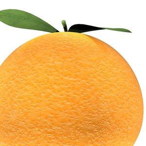 3d model orange loader