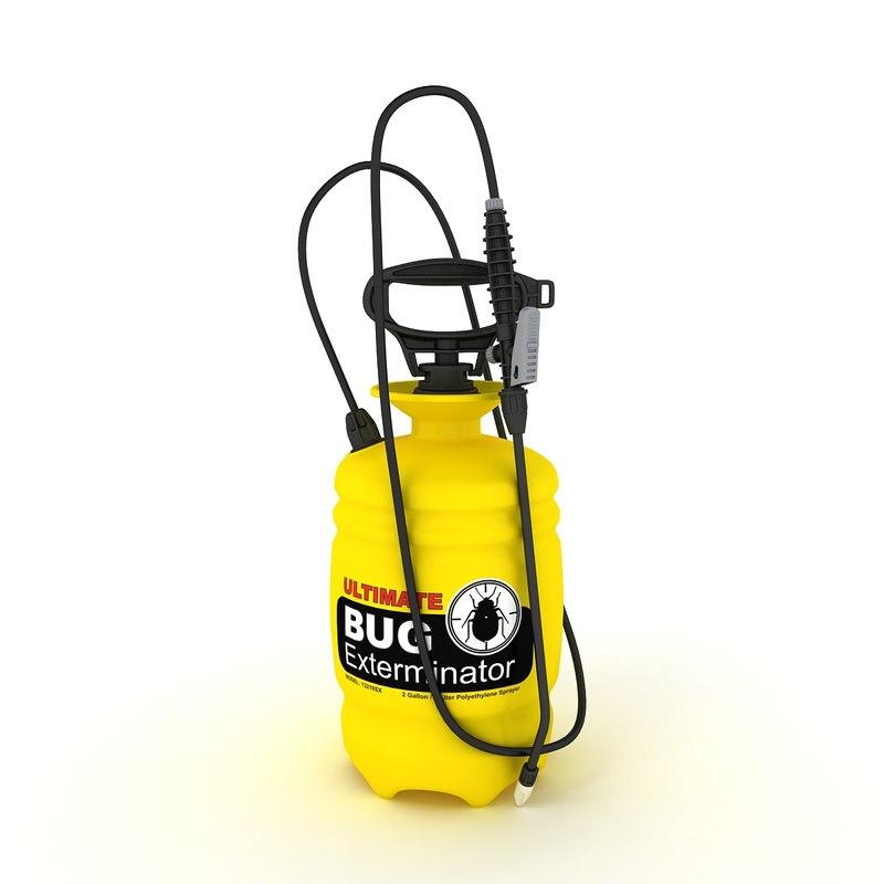 portable garden sprayer obj
