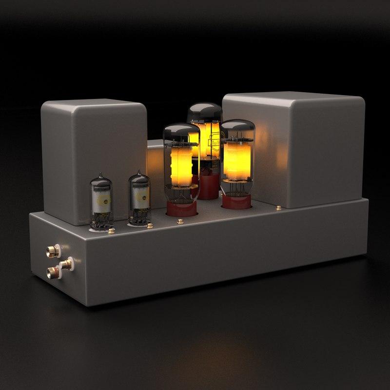 c4d vacuum tube amplifier
