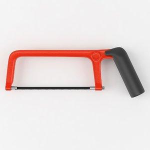 saw handsaw 3d model