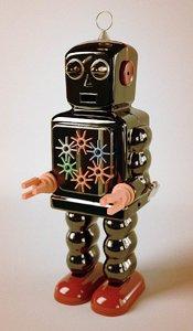 vintage robot c4d