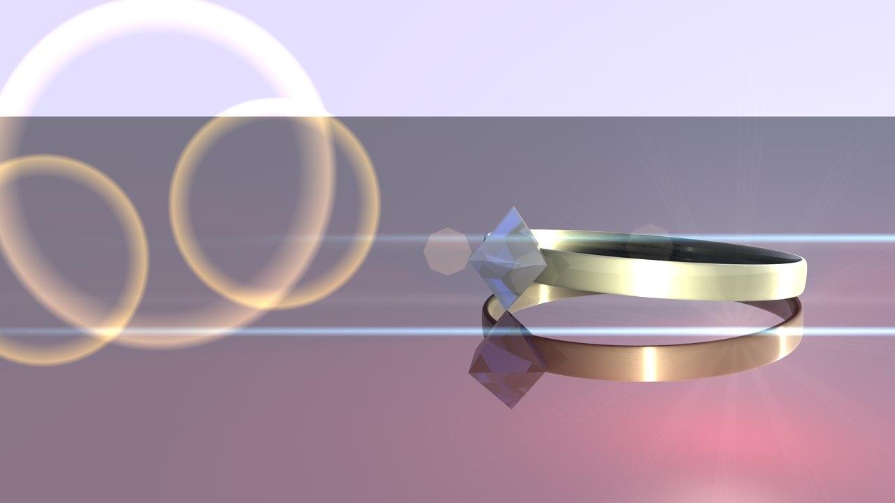 diamond ring obj