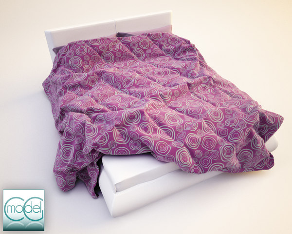obj photorealistic blankets