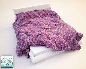 obj photorealistic blankets