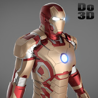Iron Man 3 Suit - Mark 42 Armor