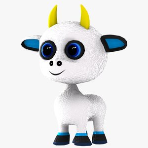 3d animal character