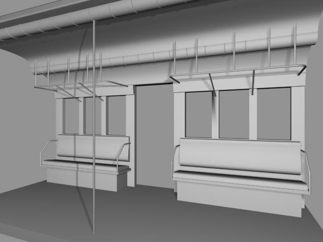 subway 3d model