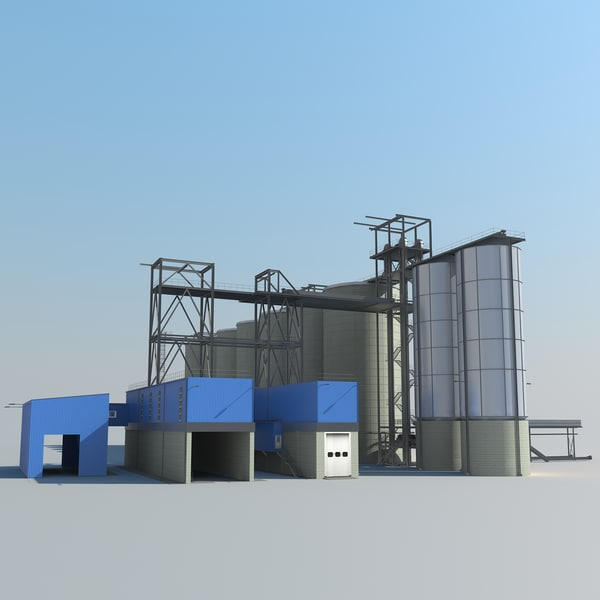 silo plant 3ds