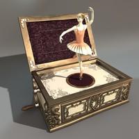 AntiqueMusicBox
