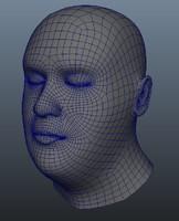 3d mesh bust character