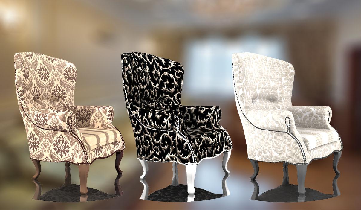 classic armchair max