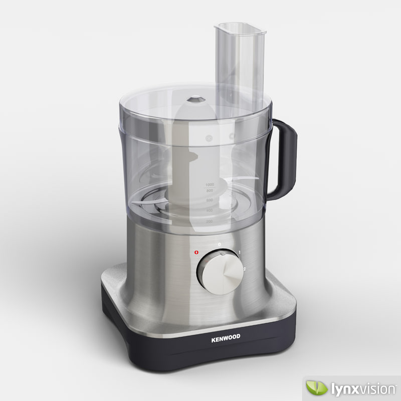3ds max kenwood pro food processor