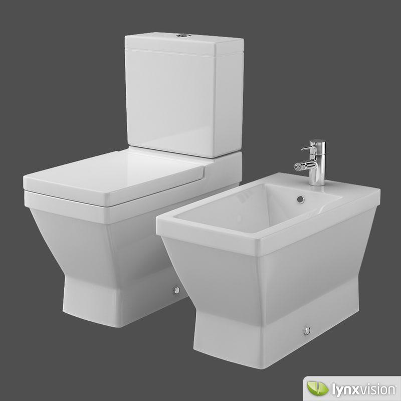 toilet bidet 2nd floor 3d max