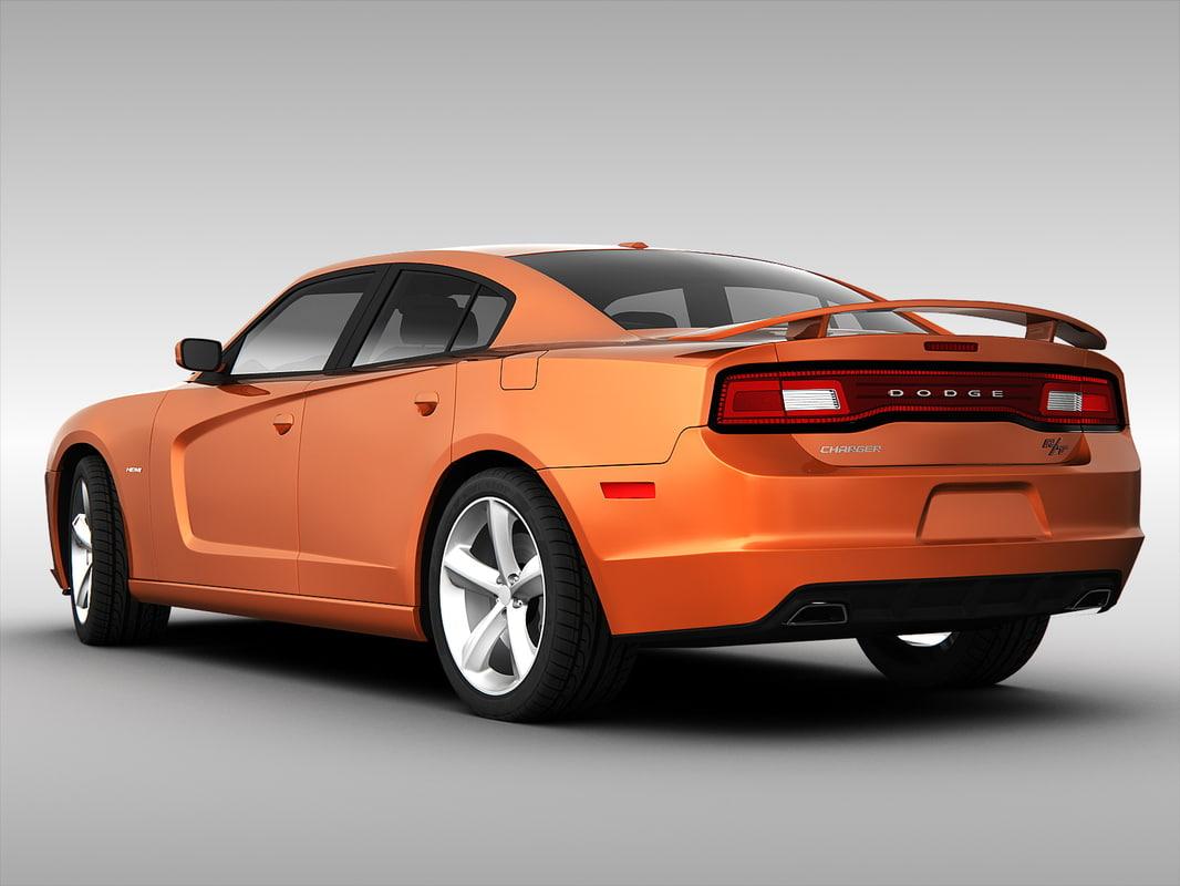 max obj model dodge standard car fbx cgtrader charger models