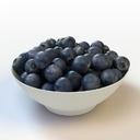 fruit blueberry 3d max
