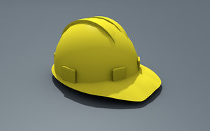 helmet hard building model