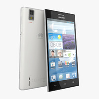 Huawei Ascend P2 White color