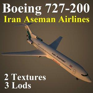 boeing 727-200 irc max