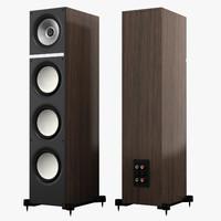 3d model kef q700 speaker