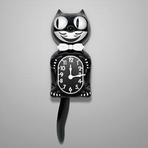 3ds max retro kit cat clock