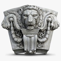 Lion Head Molding