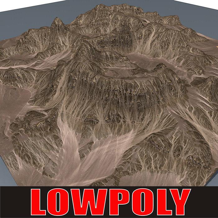 mountain maps terrain 3d max