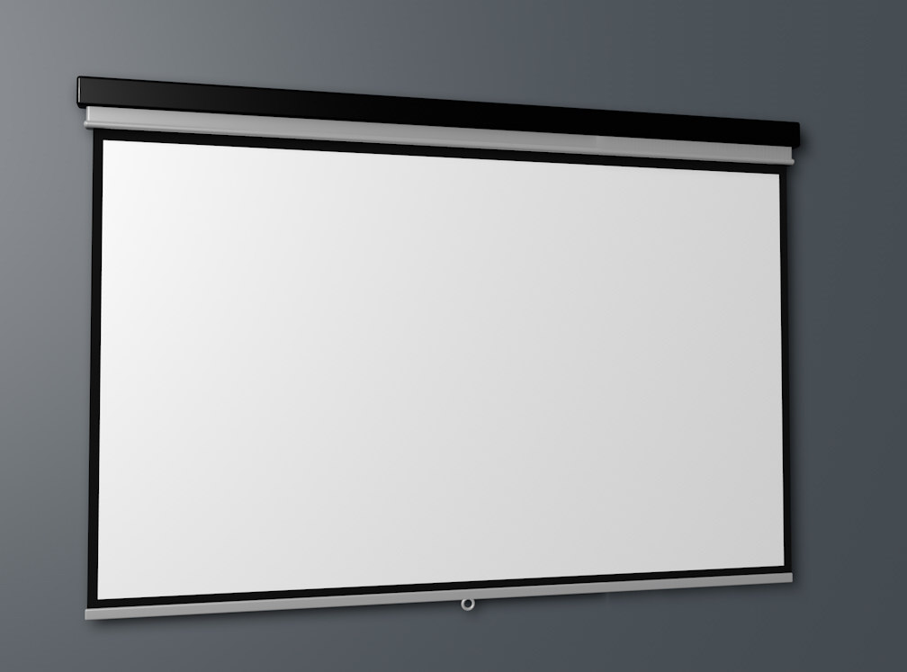 3d c4d projector screen