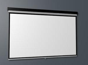 3d c4d projector screen