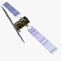 sentinel 1 earth observation 3d model