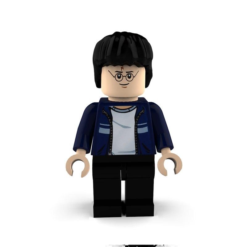 3d boy lego