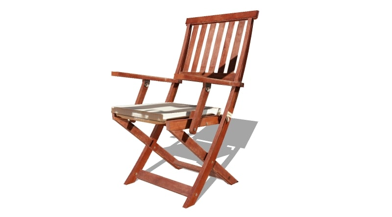 3d terrace chair