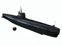 S-189  Project 613 - Russian submarine