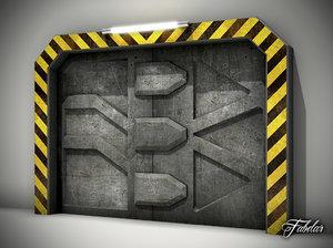 airlock door max