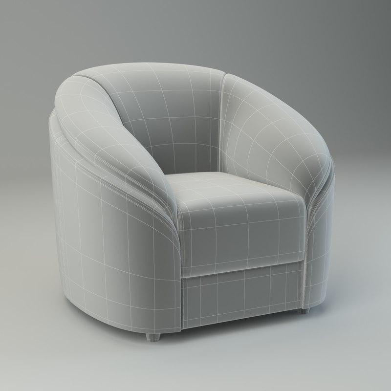 basic armchair donata max
