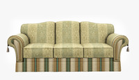 3d classic couch