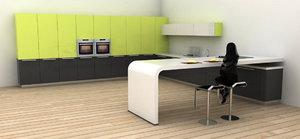 obj kitchen interior