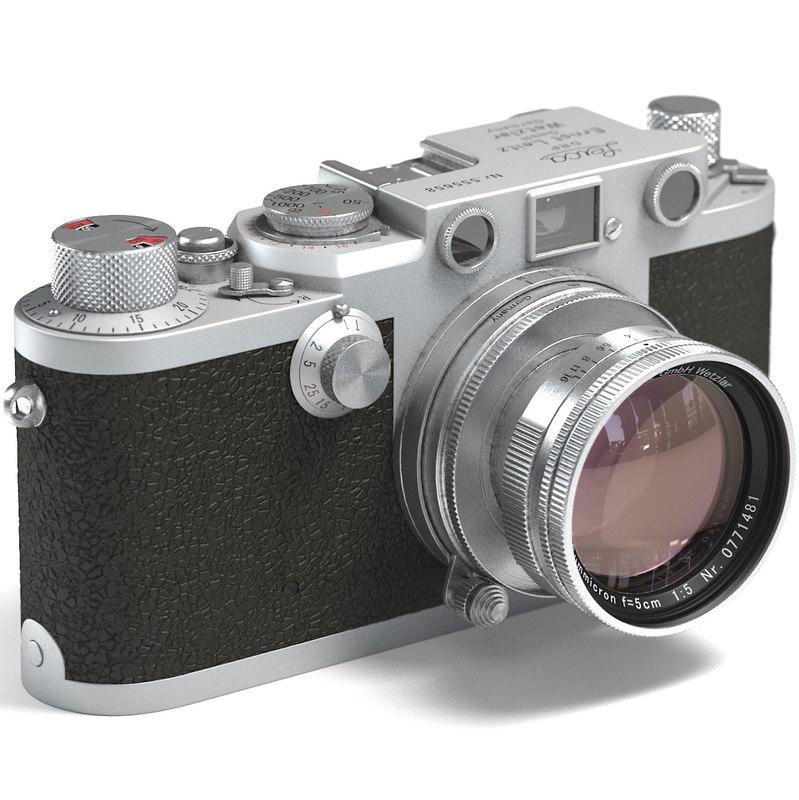 3d leica iiif cameras model