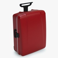 3d suitcase luggage case