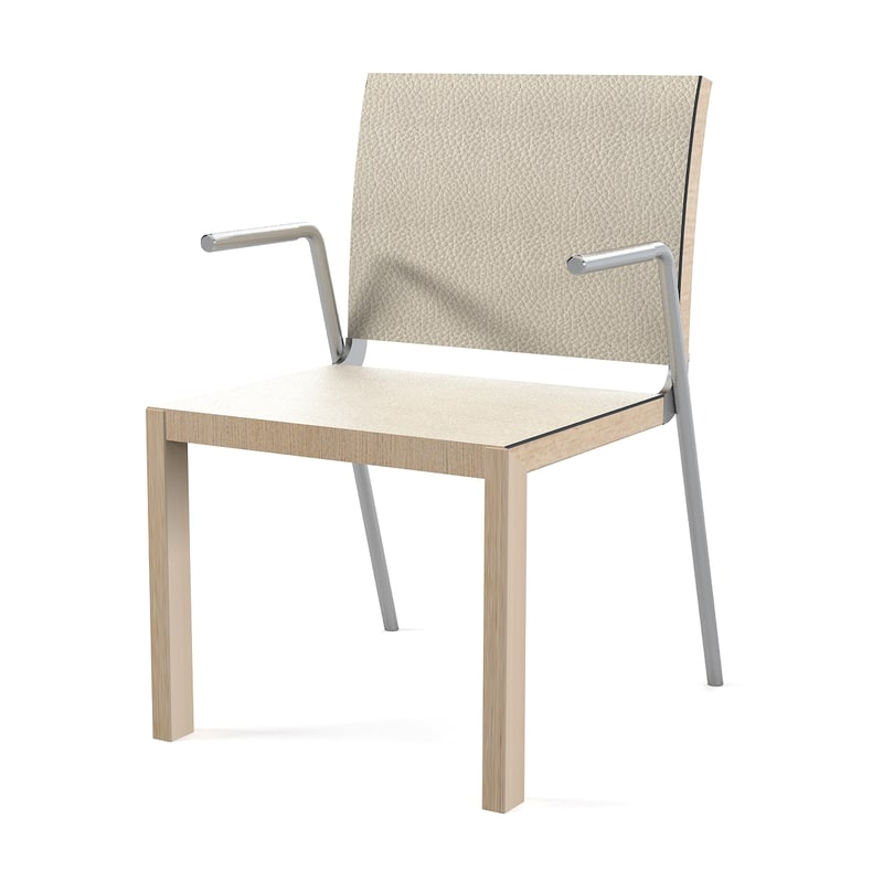 3d model metrix modo chair