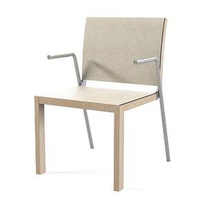 3d model metrix modo chair