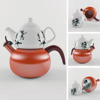 3d max ceramical kettle