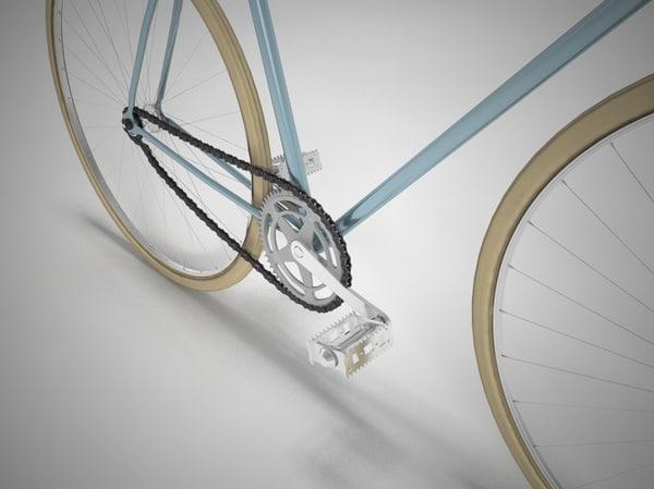 3d retro bike