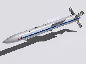 rvv-sd missile 3d model