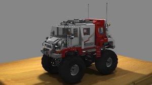 lego van 3d model