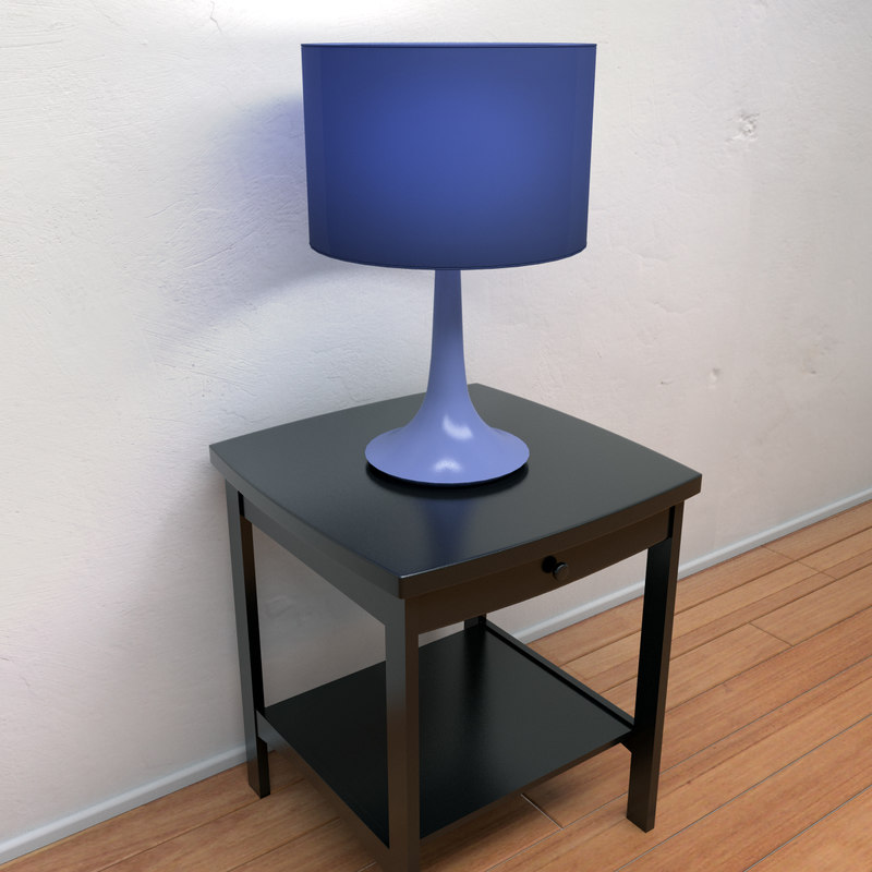 contemporary lamp 3d max