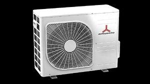 3d model mitsushito air conditioner block