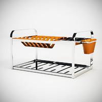 3d dish drainer