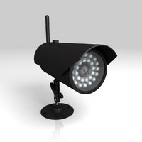 3d model led camera