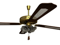 Hanging Lamp with propeller