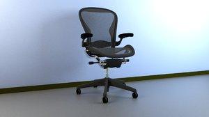 3ds aeron work chair herman miller